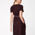 Tikitud kangast kleit – nr 38, 40, 46