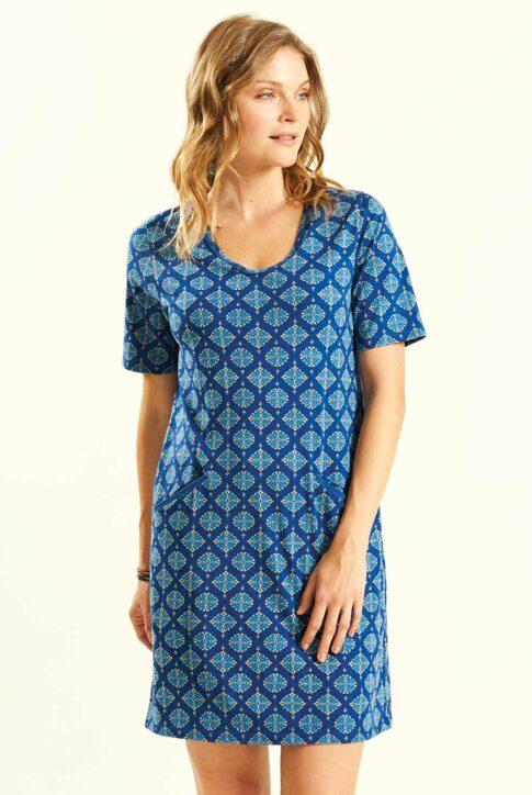 Ökopuuvillast kleit-tuunika nr 38 1