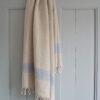 Siniste triipudega linane saunalina 1