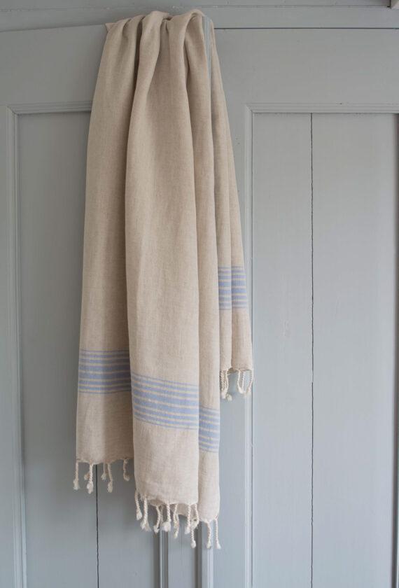 Siniste triipudega linane saunalina