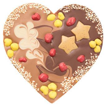 Šokolaadisüda kaneelitäidisega