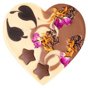 Vegan šokolaadisüda kanepipralinee täidisega