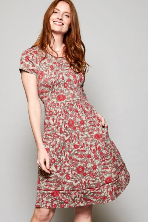Ökopuuvillast kleit