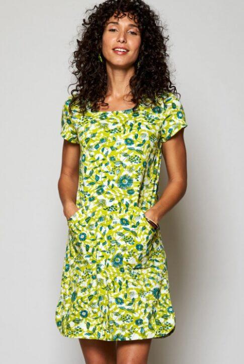 Ökopuuvillast kleit-tuunika