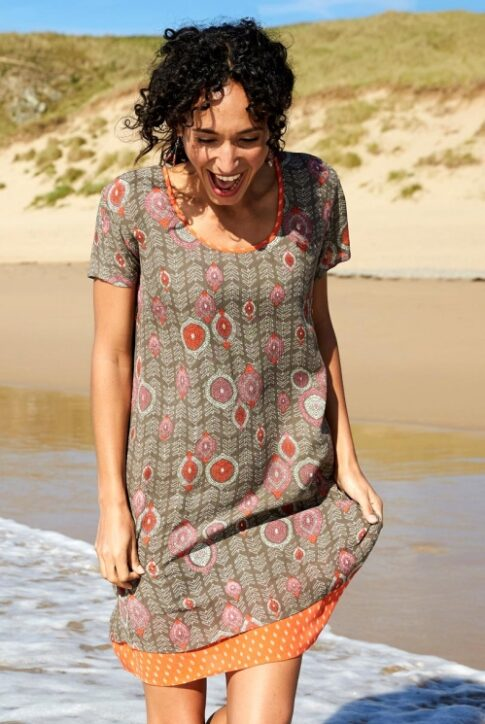 Taskutega kleit-tuunika