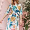 Luksuslikust kangast kleit