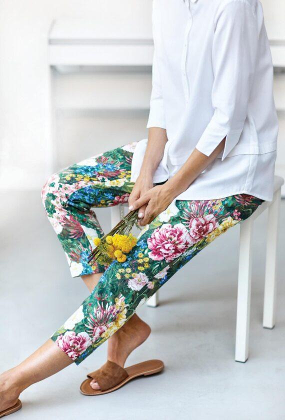 Lillelised kukepüksid nr 38, 40
