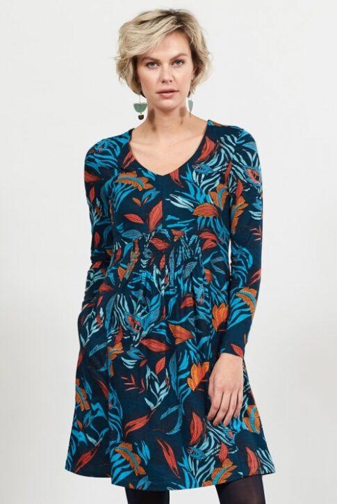 Vahvelkrookega kleit