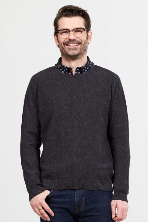 Ökopuuvillast meeste džemper