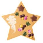 Šokolaaditäht kõrvitsaseemne pralineega