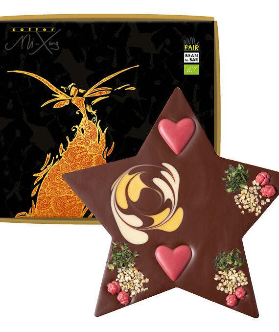 Šokolaaditäht kaneeli vahukreemi täidisega