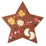 Šokolaaditäht vaarika vahukreemi täidisega