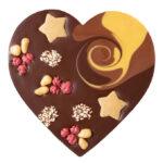 Šokolaadisüda karamellipralinee täidisega
