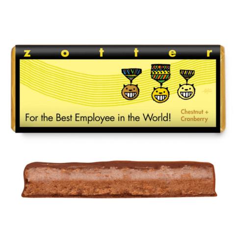 """Šokolaad """"Parimale töötajale"""", Zotter"""