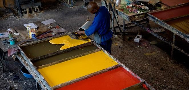 Swazi Candles küünalde valmistamine