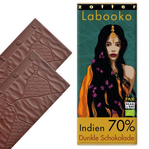 Zotter, tume šokolaad India 70%
