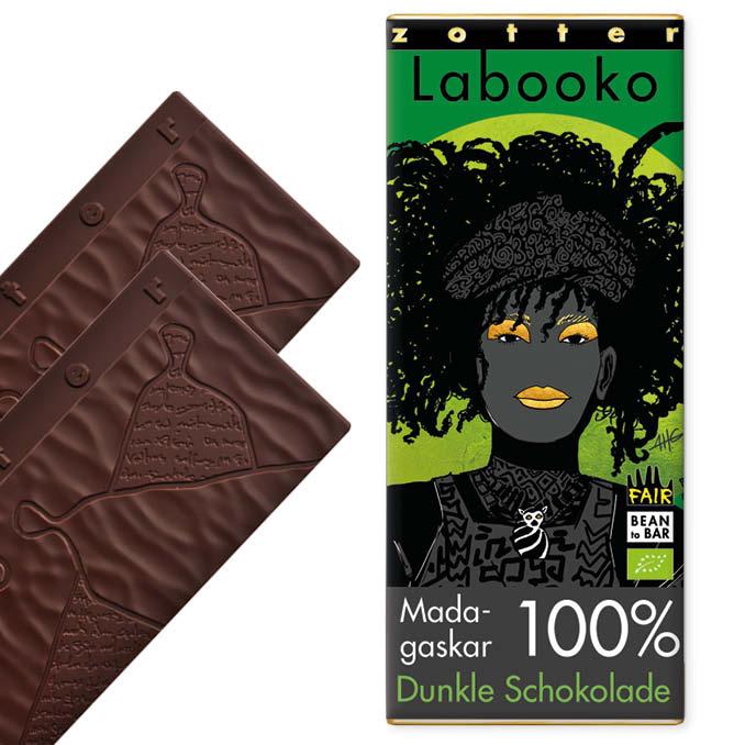 Zotter, tume šokolaad Madagaskar 100%