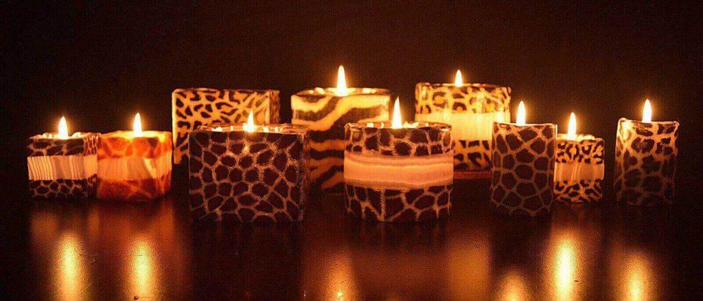 Swazi Candles küünlad põlemas