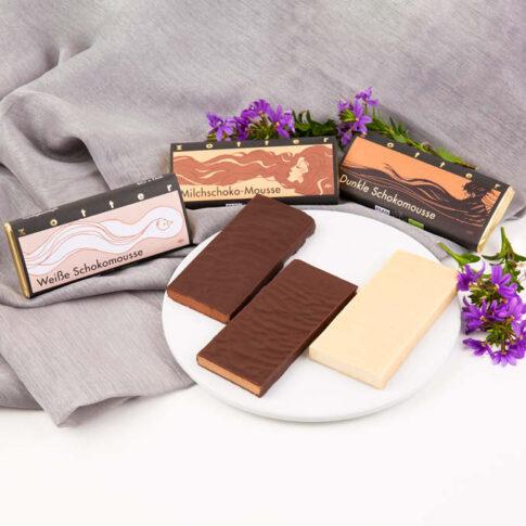 Zotter, tumeda šokolaadi moussee