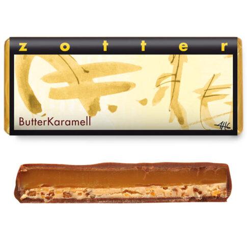"""Zotter, kihiline šokolaad """"Võikaramell"""""""