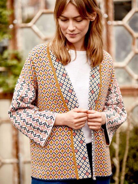 Kimono lõikega kardigan