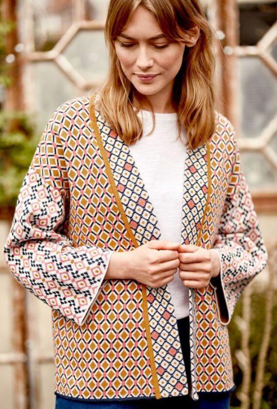Kimono lõikega kardigan nr 40, 42