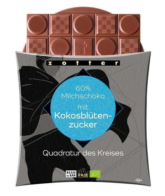 Piimašokolaad kookosõiesuhkruga