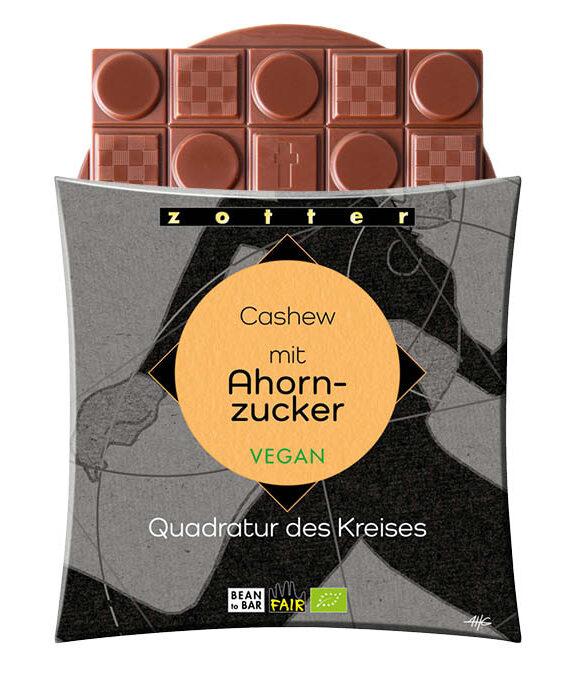 Šokolaad india pähkli ja vahtrasuhkruga, VEGAN