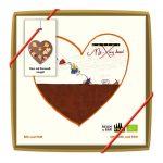 Karamellipralinee täidisega šokolaadisüda