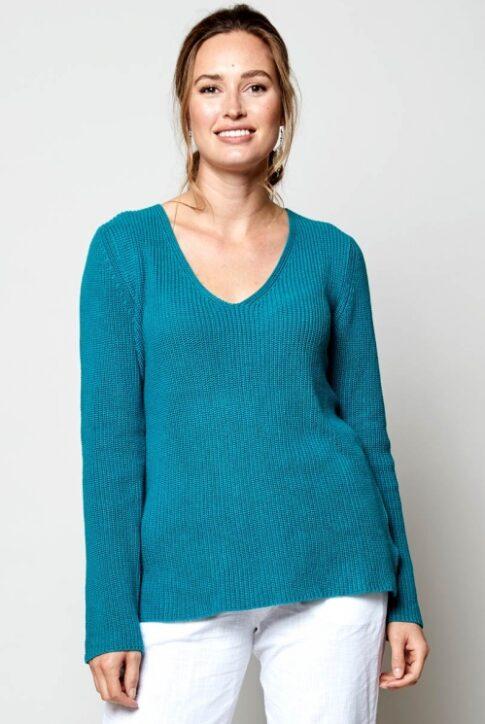 Soonikkoes V-kaelusega džemper