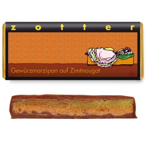 Zotter, Vürtsikas mägipiimašokolaad kaneelinugatiga