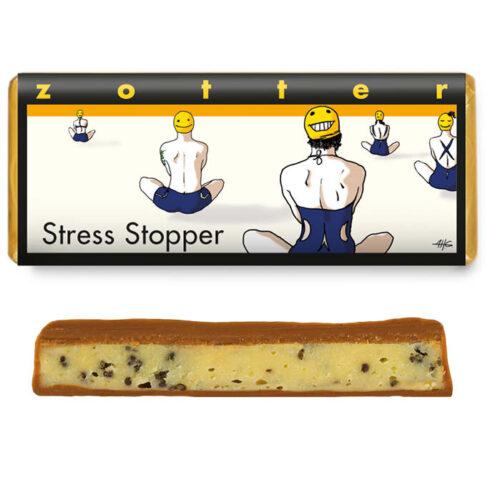 """Zotter, """"Stressi peataja"""", valge šokolaad mooniseemnetega"""