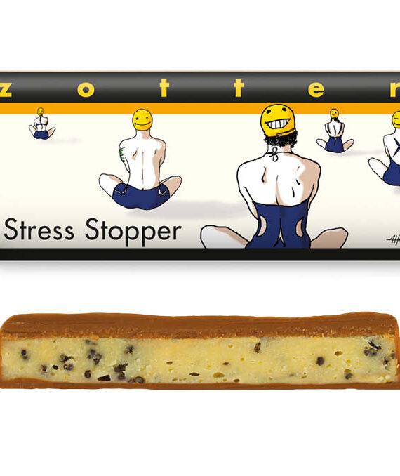 """""""Stressi peataja"""", valge šokolaad mooniseemnetega"""