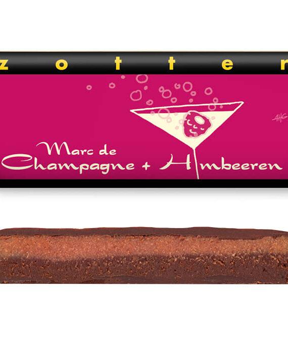 """Šokolaad """"Šampanja ja vaarikad"""""""