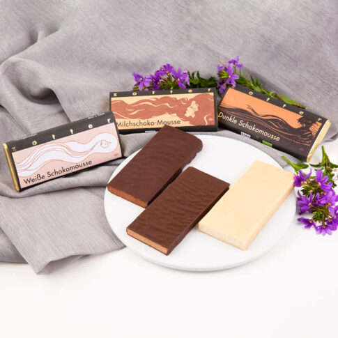 Zotter, Valge šokolaad valge šokolaadi mousseega