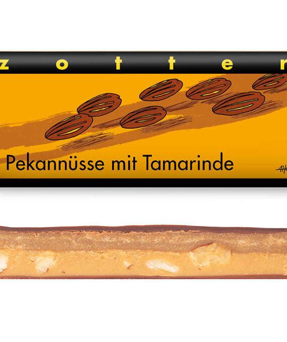 Šokolaad pekaanipralinee ja tamarindi ganachega
