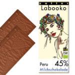 Piimašokolaad 45% Peru