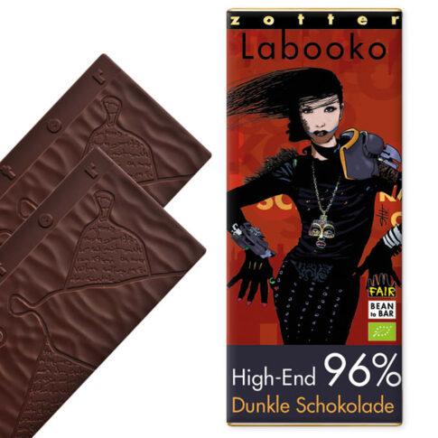 """Zotter, Tume šokolaad 96% """"Kõrgklass"""", VEGAN"""