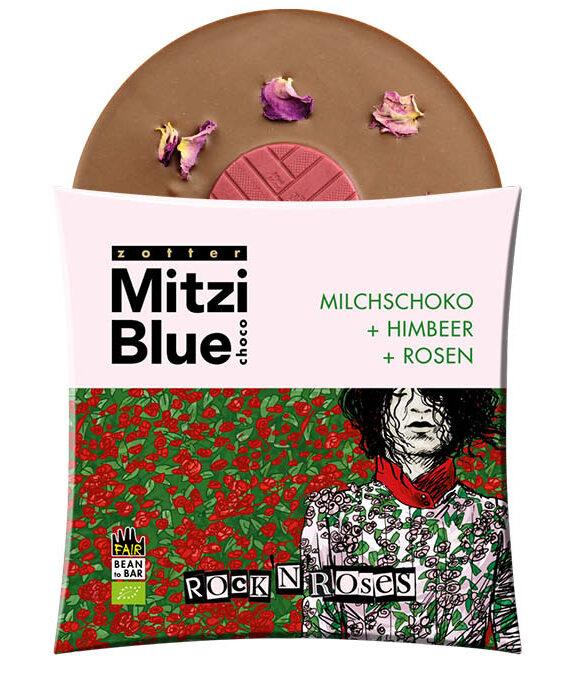 "Piimašokolaad ""Rock´n Roses"""