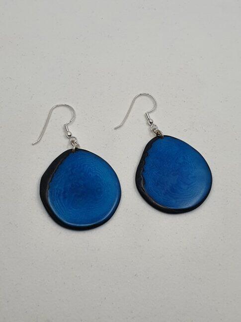 """Kõrvarõngad """"Carlaret"""", sinine"""