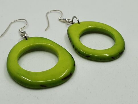 """Kõrvarõngad """"Donaret"""", roheline"""