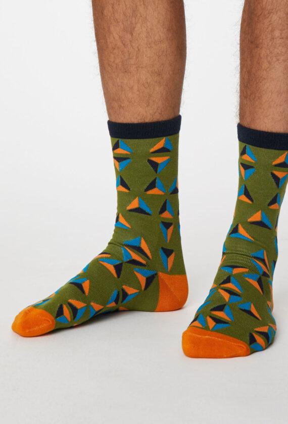 Sokid geomeetrilise mustriga