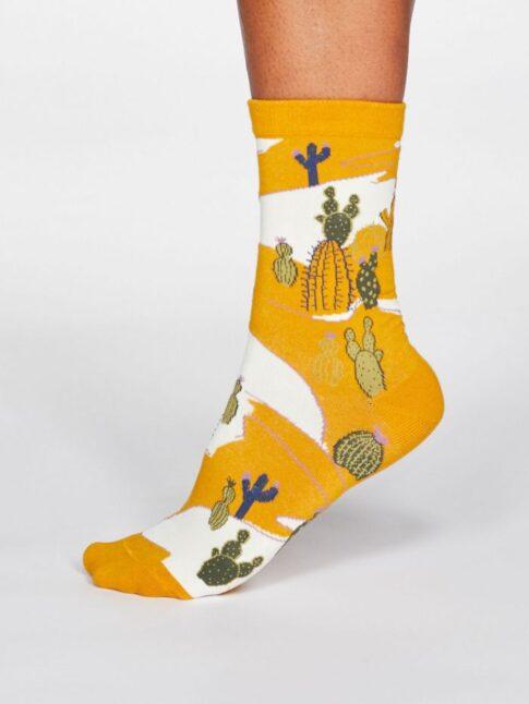 """Sokid """"Kaktus"""", päevalillekollane"""