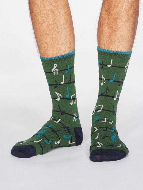 """Sokid """"Noodid"""", oliivroheline"""