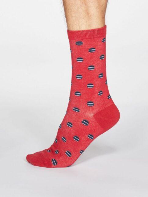 """Sokid """"Triibulised mummud"""", marjapunane"""