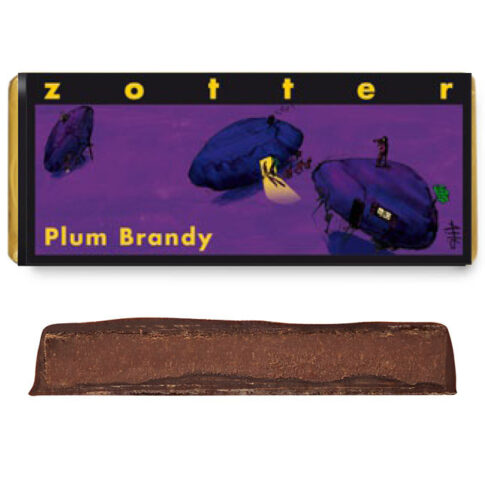 "Šokolaad ""Ploomibrändi"", Zotter"