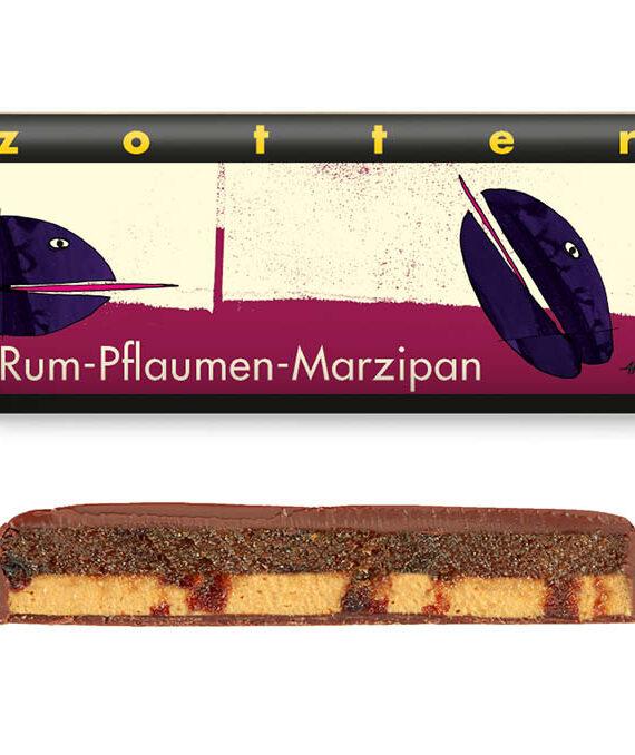 """Šokolaad """"Ploomid ja martsipan rummis"""""""