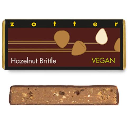 """Šokolaad """"Krõbe sarapuupähklišokolaad"""", Zotter"""