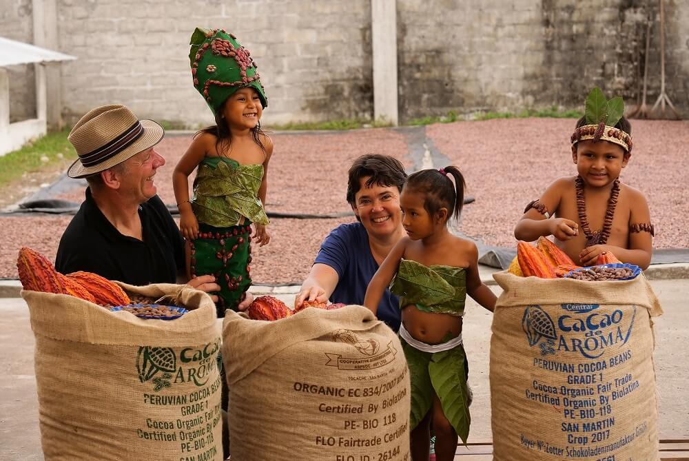 Josef Zotter, Ulrike Zotter ja Peruu lapsed