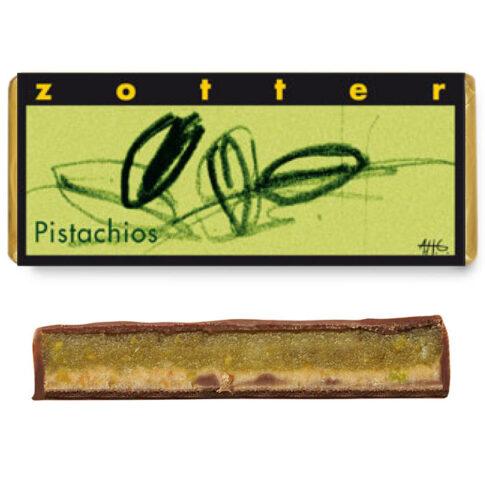 """Šokolaad """"Pistaatsiad"""", Zotter"""